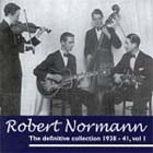 Cover: Robert Normann - The Definitive Collection 1938-41, Vol.1 (2003)