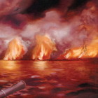 Cover: The Besnard Lakes - The Besnard Lakes Are The Roaring Night (2010)